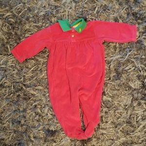 Infant girls Ralph Lauren sleeper 9 months